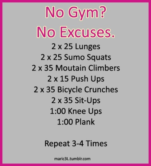 Femme Fitale Fit Club BlogNo Excuse Full Body #Workout