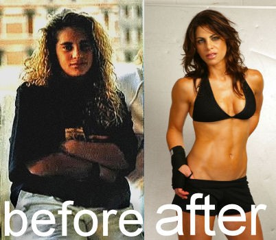 Jillian Michaels before and after