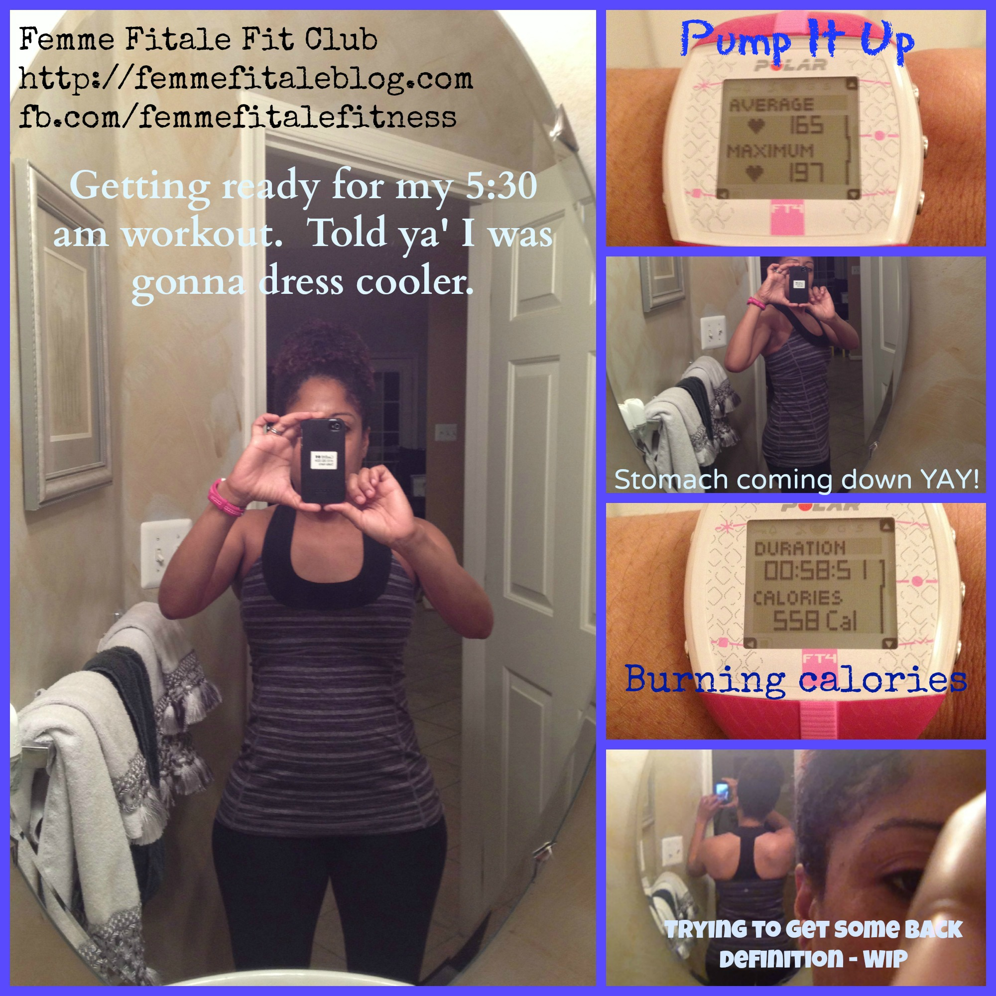 Femme Fitale Fit Club BlogDay 3 Boot Camp - DRINK MY SWEAT! - Femme