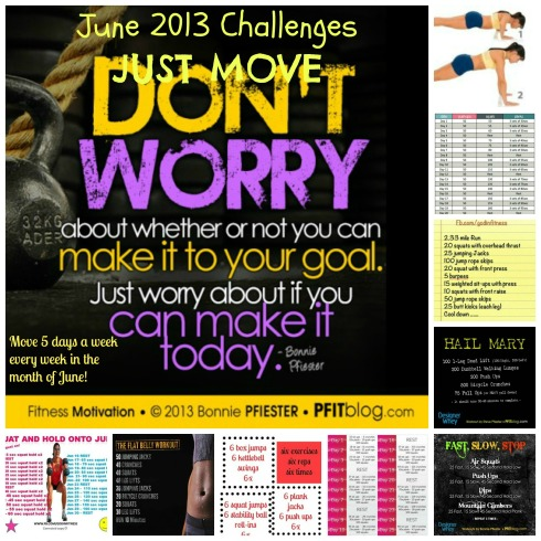 June2013 Just Move Challenge