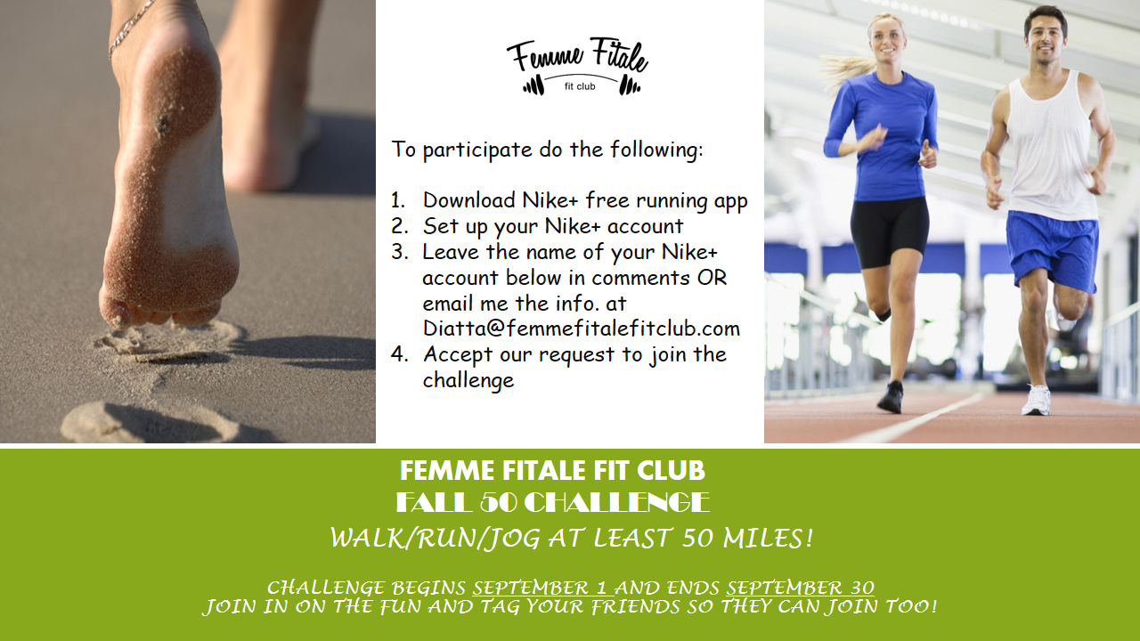 5K | Femme Fitale™ Fit Club Blog
