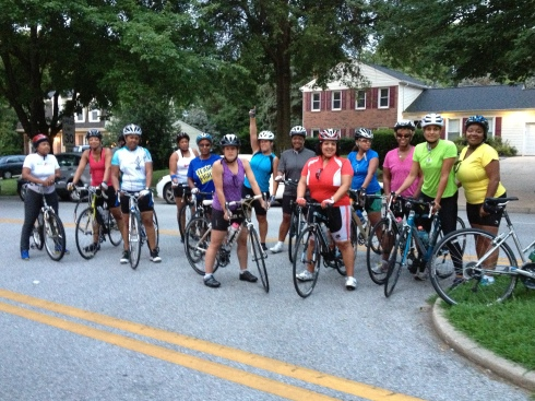 This was a training ride this summer with LiveNow TriNow in preparation for Iron Girl Columbia and Iron Girl Rocky Gap triathlons.